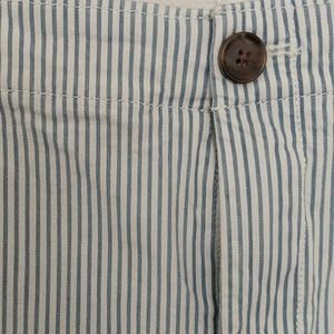 GAP Pants - Nautical striped Gap Girlfriend Chino